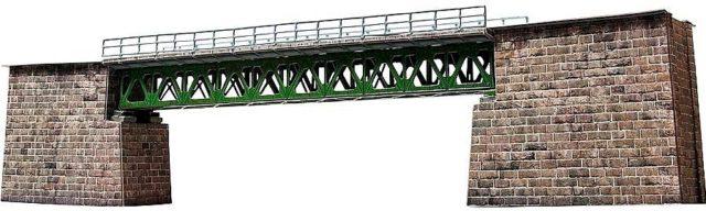Железнодорожный мост из бумаги