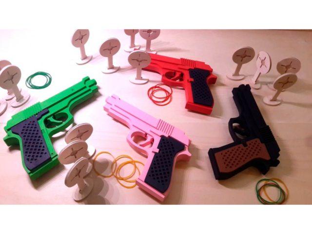 Пистолеты бумажные