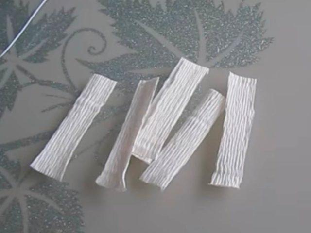 Оригами цветочков яблони