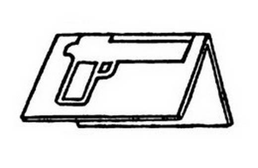 Шаблон пистолета