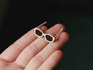 Бумажные очки маленькие