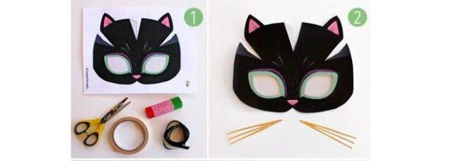 Создание маски кошки