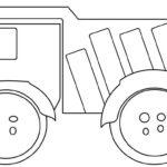 Шаблон грузовика