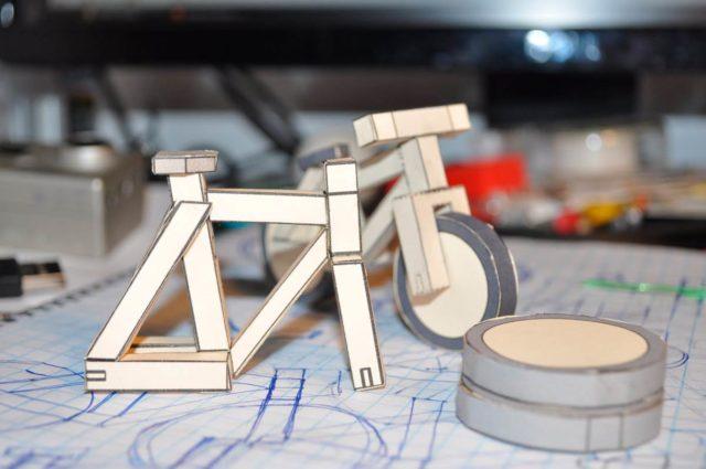 Велосипед по чертежам