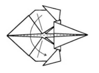 Создание воробья в технике оригами