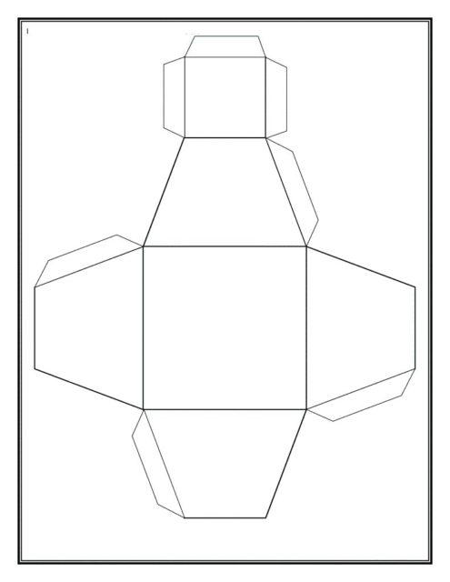Схема усеченной пирамиды