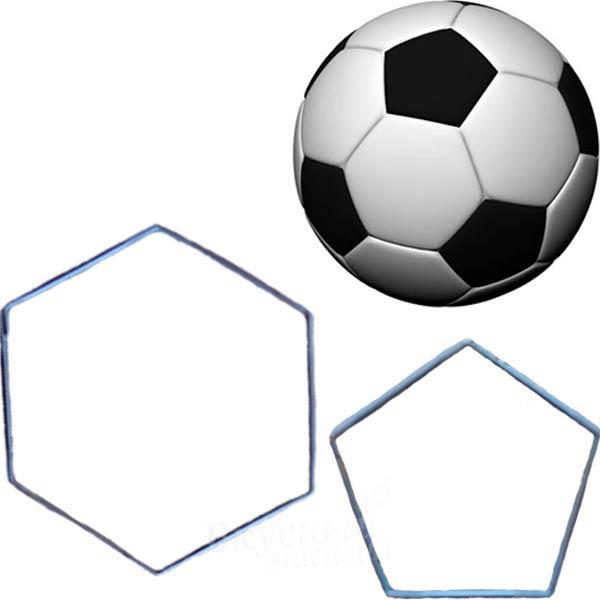 Создание футбольного мяча