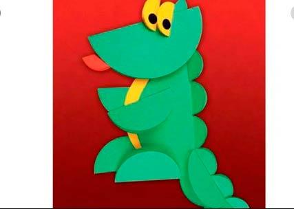 Аппликация крокодила гены