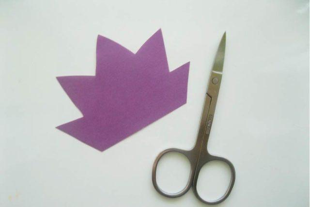 Создание ежика из бумаги