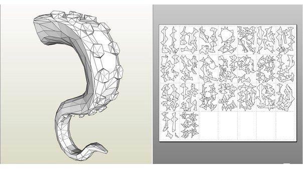 Щупальце 3D