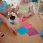 Создание воздушного змея оригами