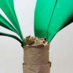 Создпние бумажной пальмы
