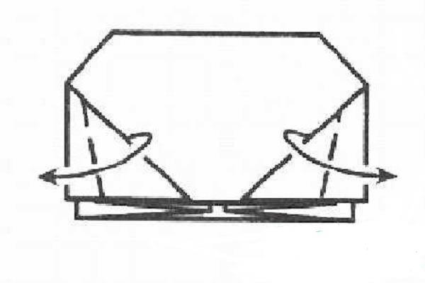 Сборка маски бегемота оригами