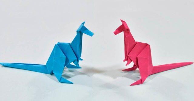 Бумажные кенгуру