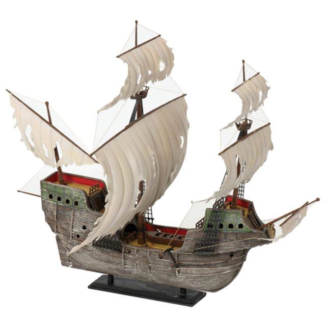 Парусное судно, пиратский корабль