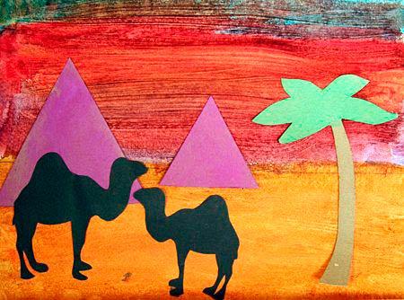 Аппликации египетской пирамиды