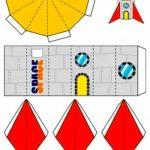 Развертка космической ракеты