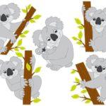 Шаблон коалы для вырезания