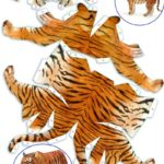 Шаблон тигра