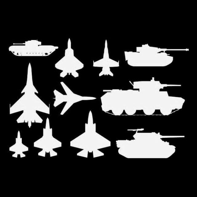 Шаблоны военно техники