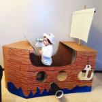 Пиратский корабль для игр