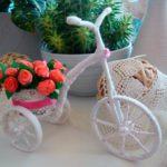 Поделка велосипед