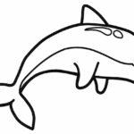 Шаблон дельфина
