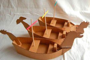 Корабли из бумаги