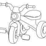 Шаблон велосипеда