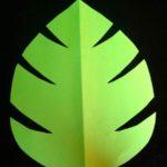 Шаблон листа пальмы