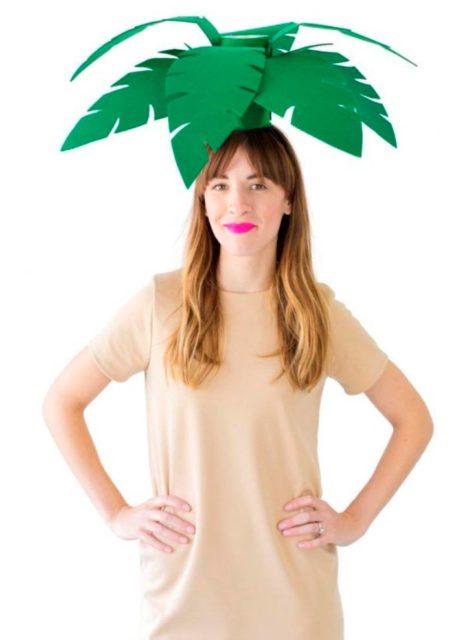 Пальма на голове