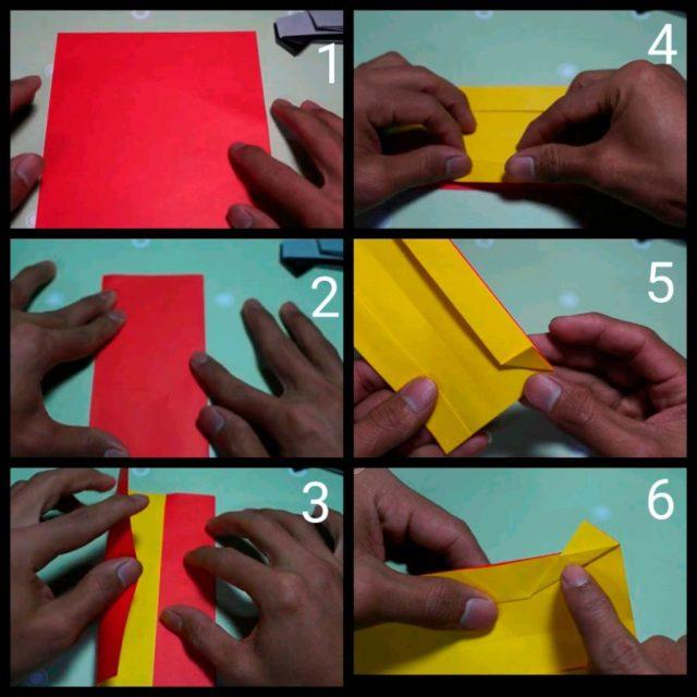 Создание камаза оригами
