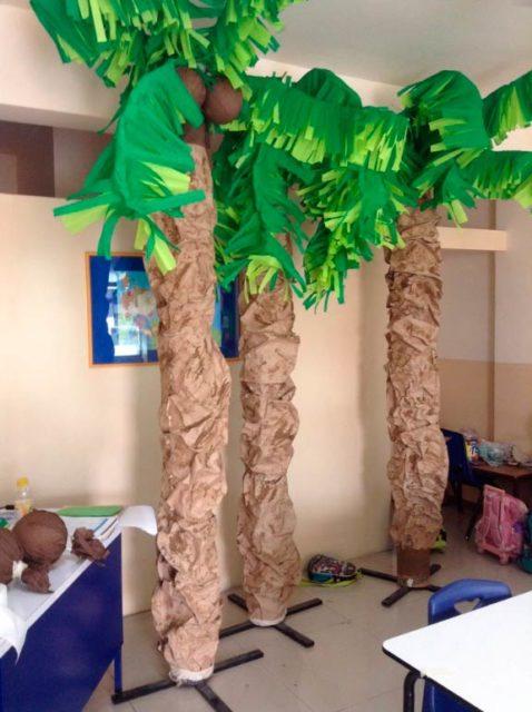 Большие пальмы, ростовые