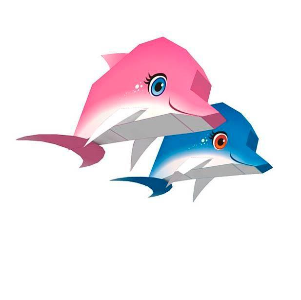Маленькие дельфинчики