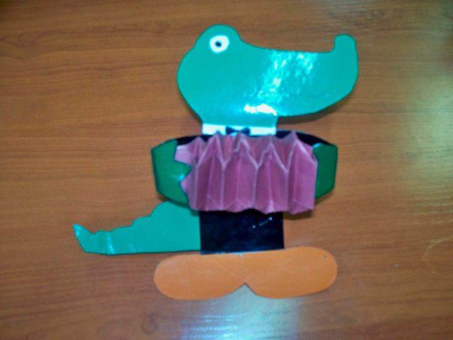 Бумажный крокодил гена
