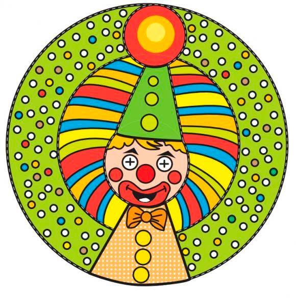 Шаблон клоуна