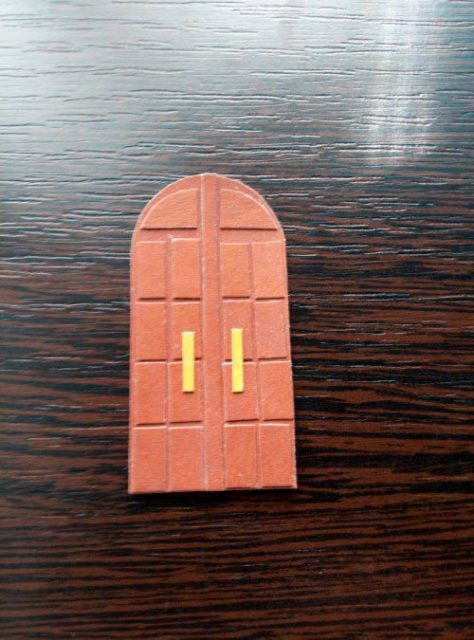 Дверь бумажная