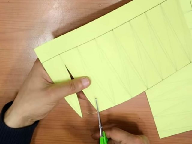 Купол из бумаги