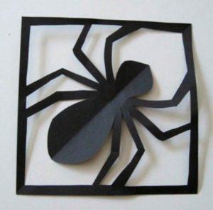 Аппликация паука