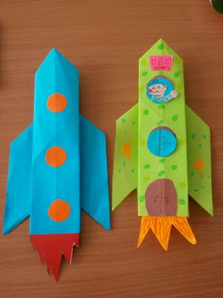 Ориами ракеты