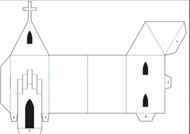 Шаблон церкви