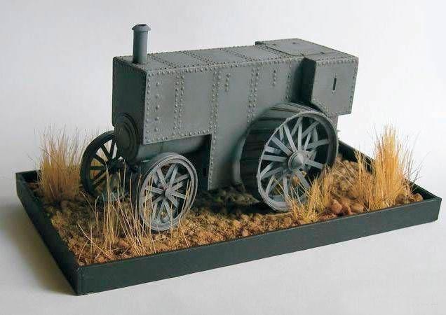 Макет трактора