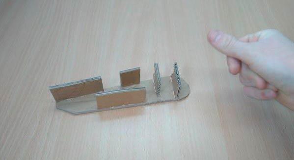 Создание пушки из бумаги