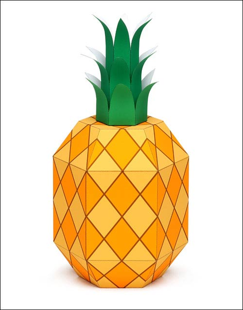 Бумажный ананас