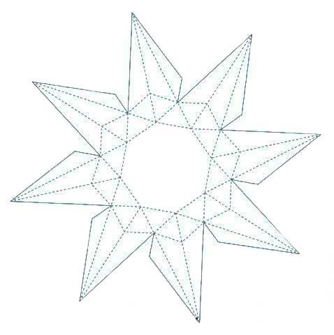 Шаблон алмаза для склейки