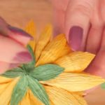 Создание цветка георгина