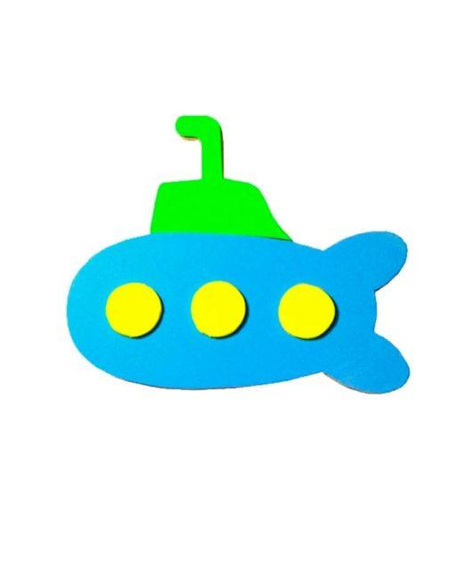 Аппликация подводной лодки