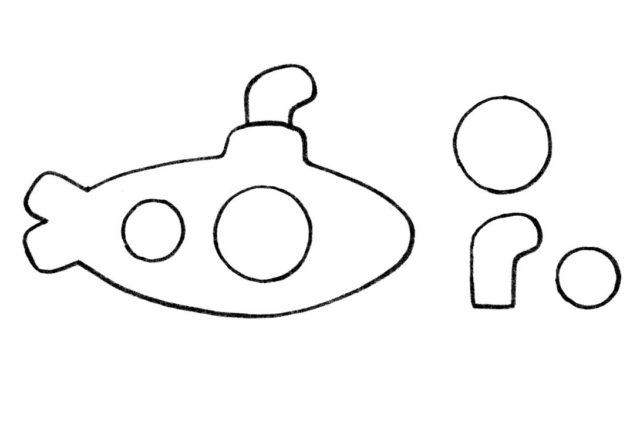 Шаблон подводной лодки