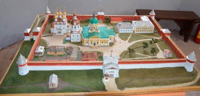 Макет Зарайского кремля