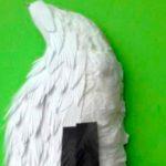 Создание дятла из бумаги